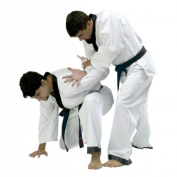 "Hapkido formas tērps ""COTTON RICE""."