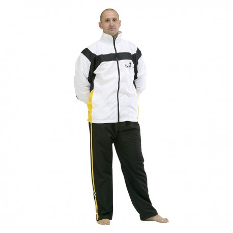 "Sporta tērps ""FUJIMAE White with Black/Yello"""