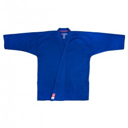 "Karate Jacket ""FUJIMAE TRAINING"" Blue-Black-Red"
