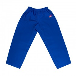 "Karate Pants ""FUJIMAE TRAINING"" Blue-Black-Red"