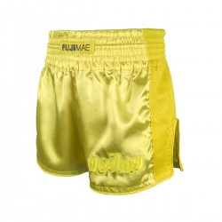 "Taiboksa šorti ""Training Thai Shorts Yellow"""
