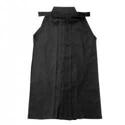 "Hakama  ""FUJIMAE COTTON"" BLACK"